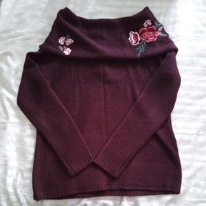 Women's Cowl Neck Sweater